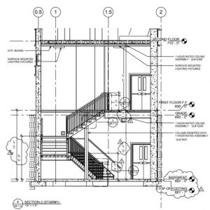 Stair Landing (Mihrab)